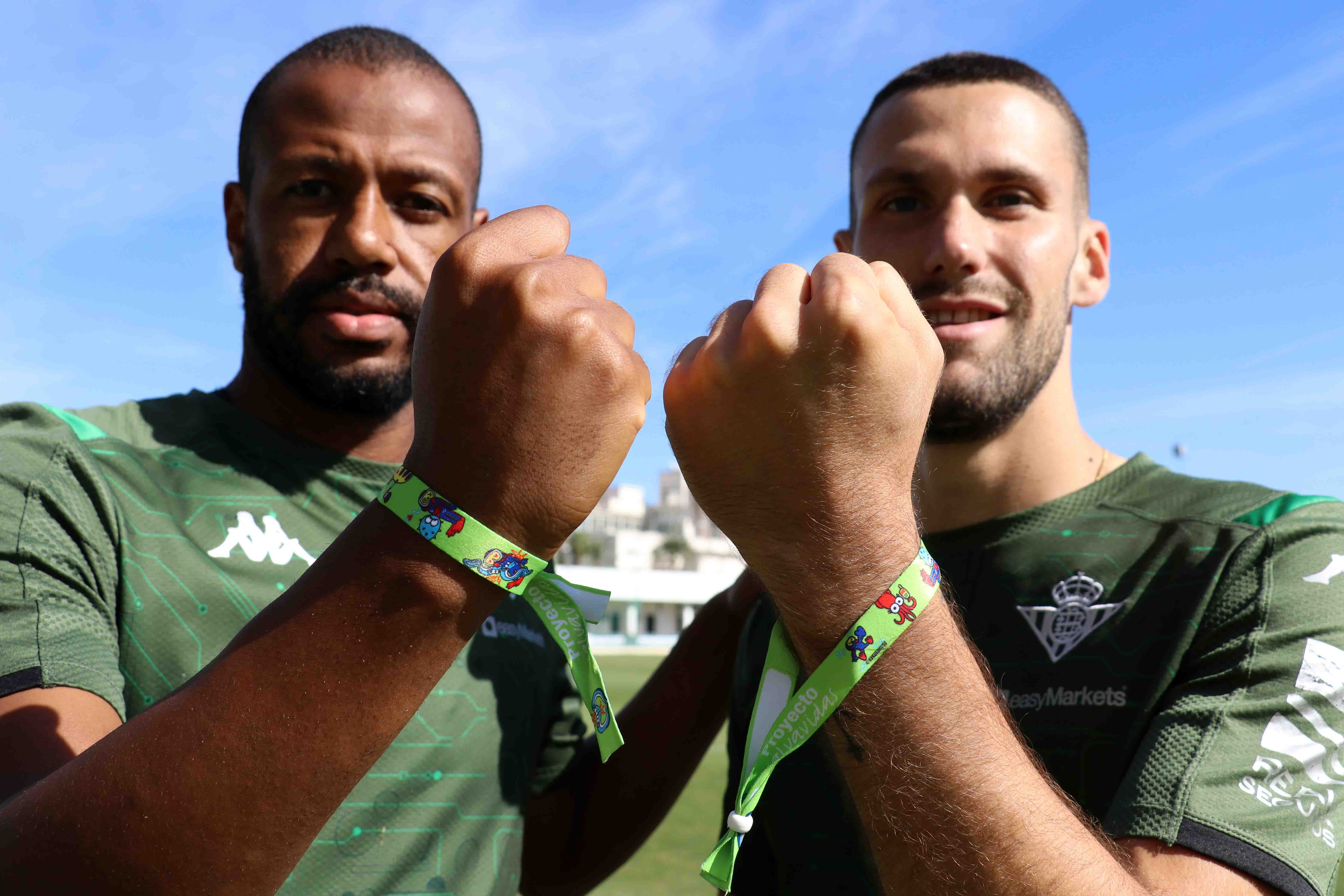 The Real Betis Balompié Foundation joins the Lifeguard Bracelets project