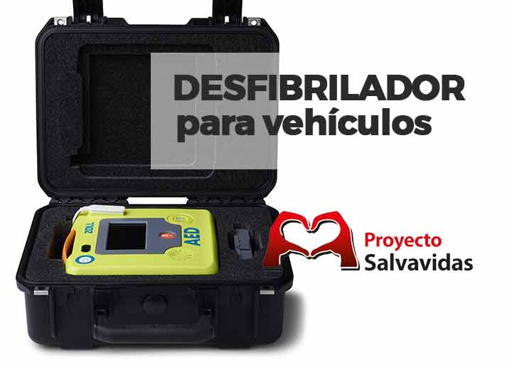 External defibrillators for cars for children and adults