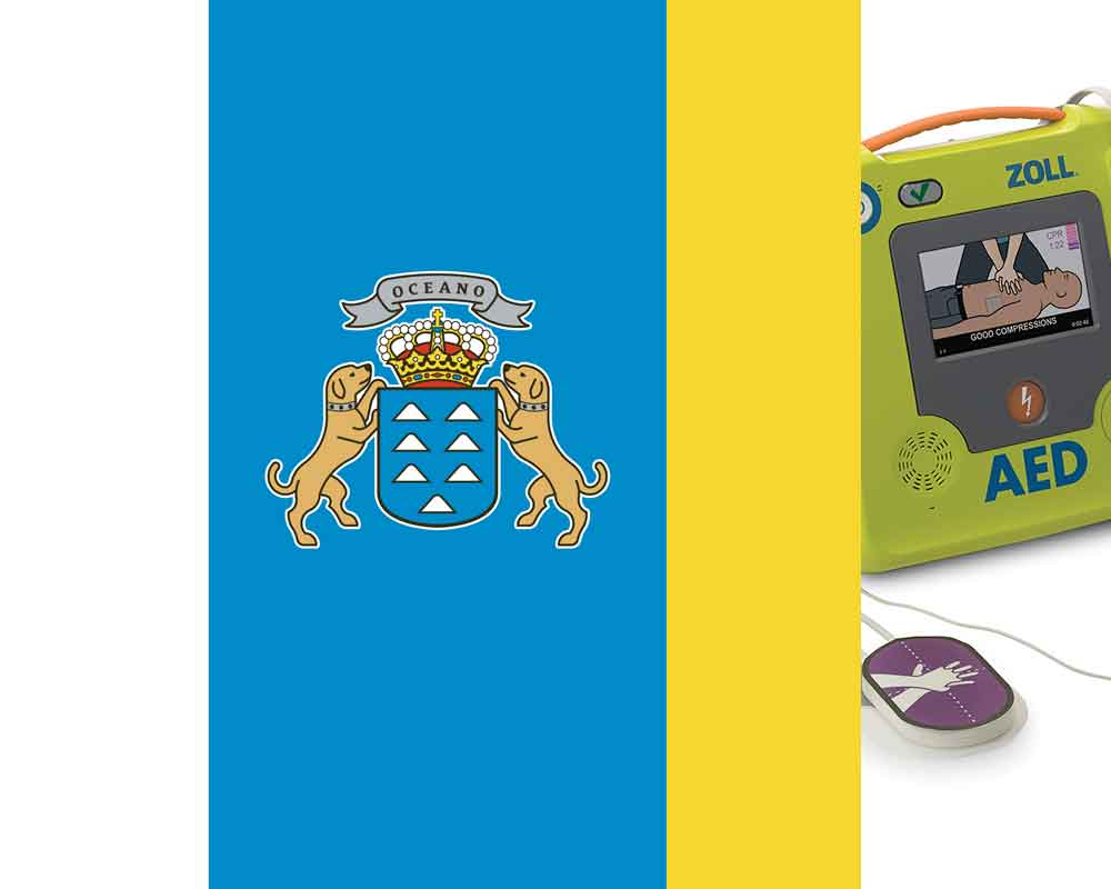 Canary Islands defibrillator regulations
