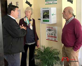 We install nine defibrillators in tourist and sports facilities in Cantur