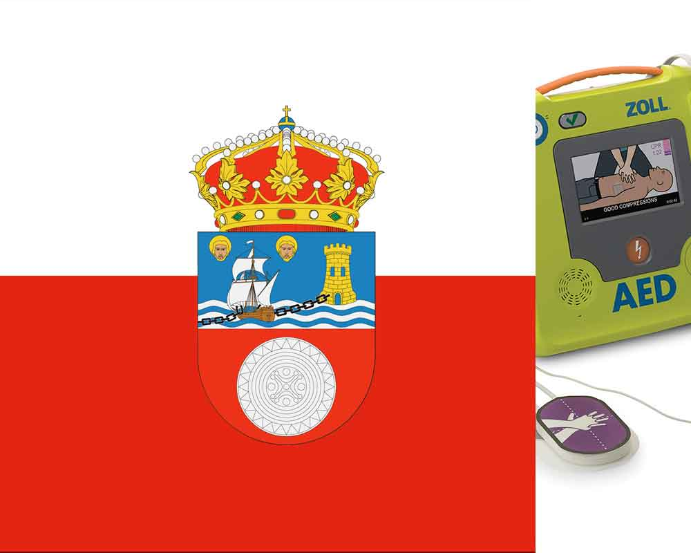 Defibrillator regulations Cantabria