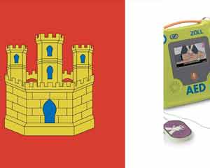 Regulations on the use of external defibrillators in Castilla La Mancha
