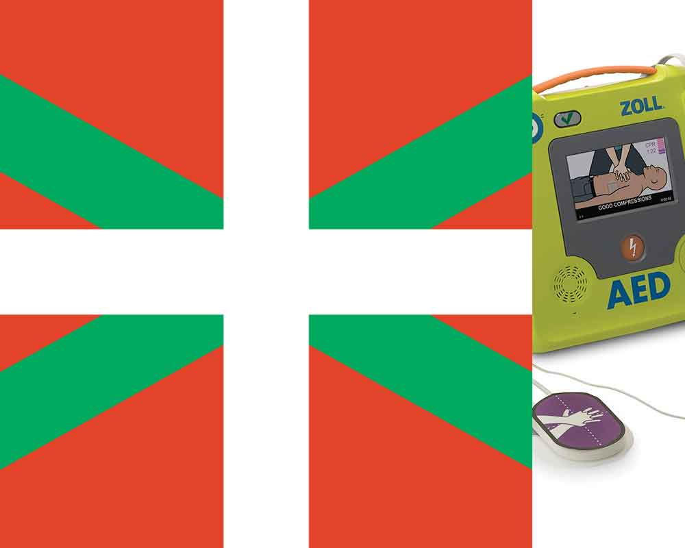 Euskadi defibrillator regulations