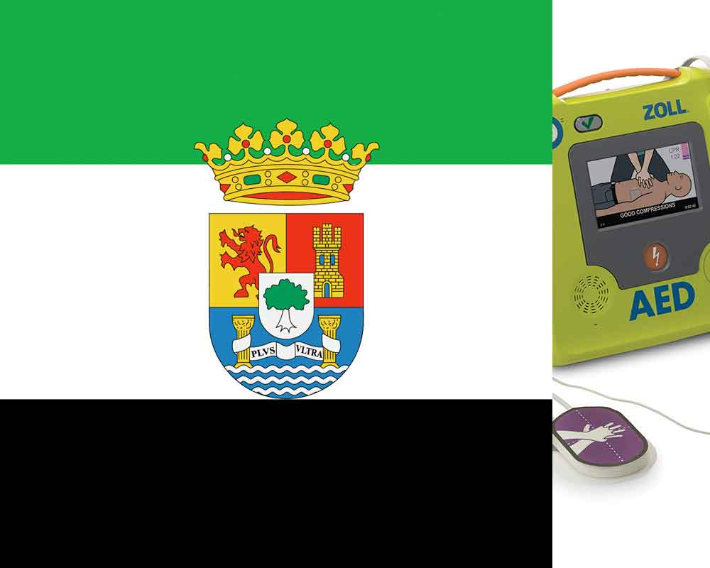Extremadura defibrillator regulations