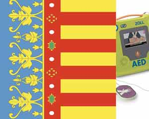 Regulations on defibrillators in the Valencian Community