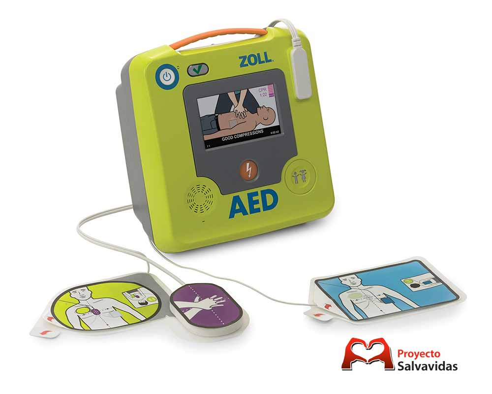 Sale of defibrillator Zoll AED 3