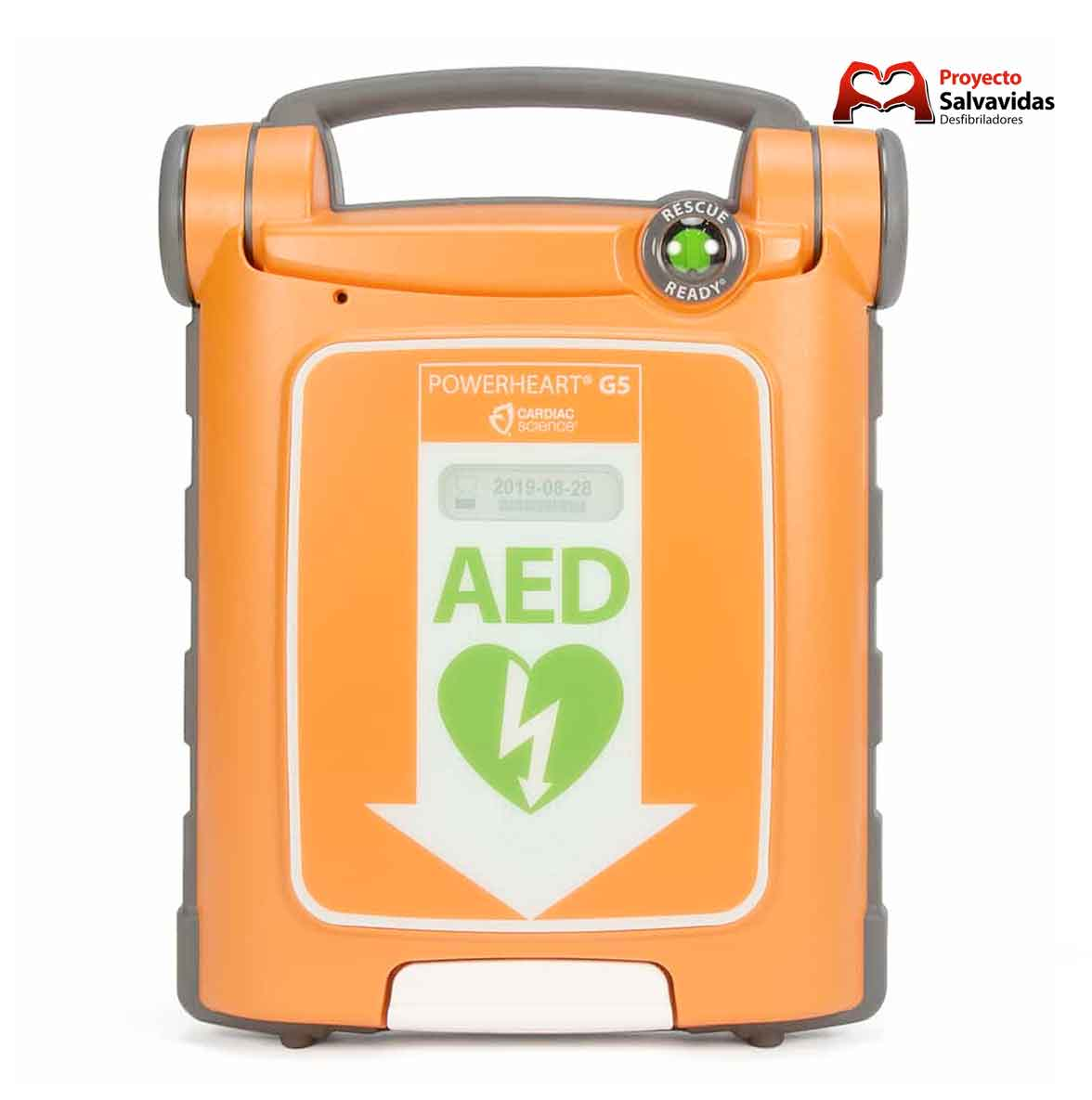 Desfibrilador de venda / arrendamento Cardiac Science Powerheart G5