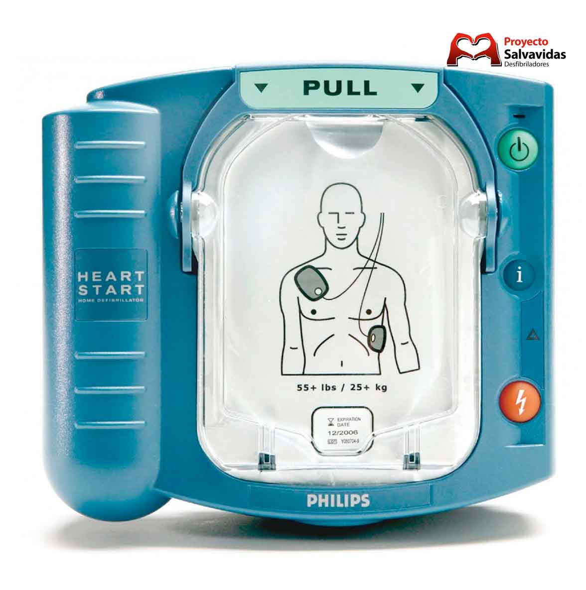 Philips HeartStart external defibrillator HS1 sale | Price and technical characteristics