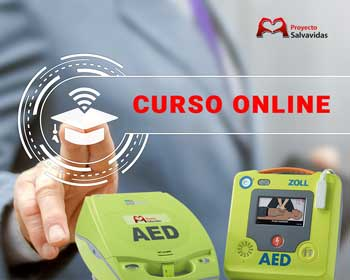 Online course using DESA defibrillators and Basic Life Support