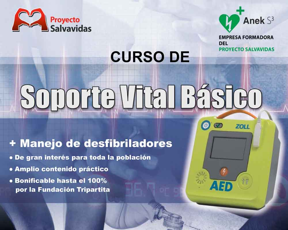 Course use external defibrillator