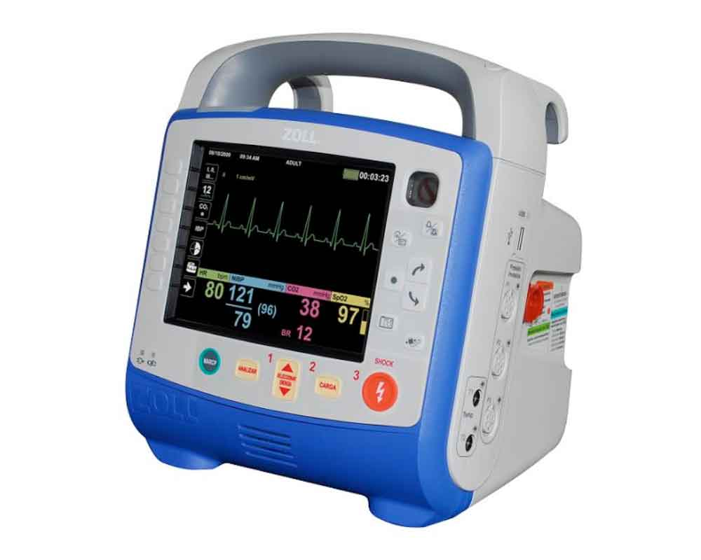 Zoll X Series Defibrillator | Manual defibrillator for sanitary use