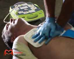 Defibrillators in cardioprotected shopping centers
