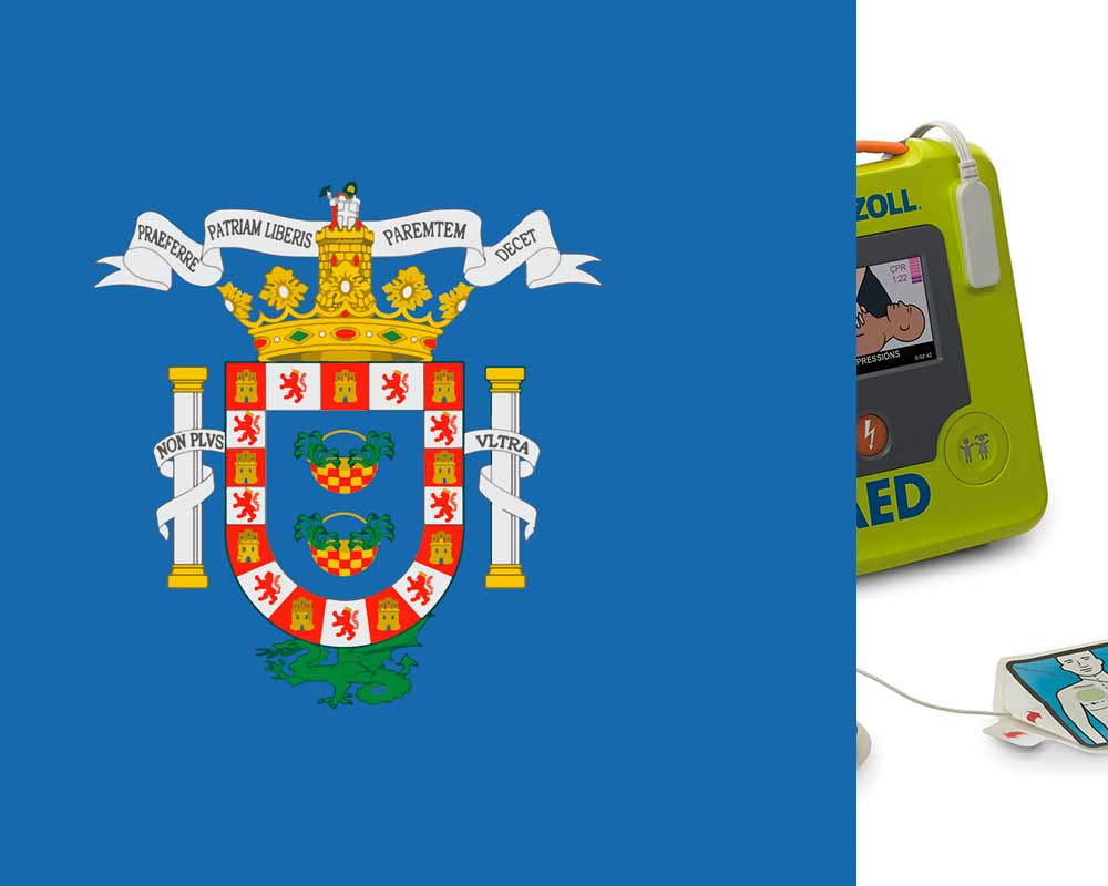 Melilla defibrillators regulations