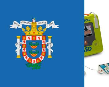 Regulations on external defibrillators in Melilla