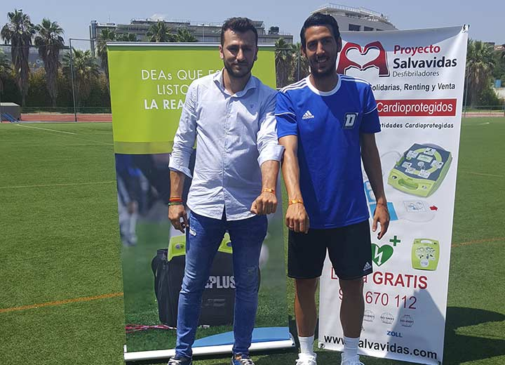Football Campus Dani Parejo cardioprotegido