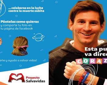The Leo Messi Foundation collaborates to cardioprotect schools in Barcelona