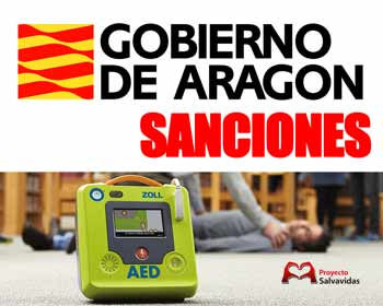 Aragon, the sanctions for breaking the regulations on external defibrillators come into effect