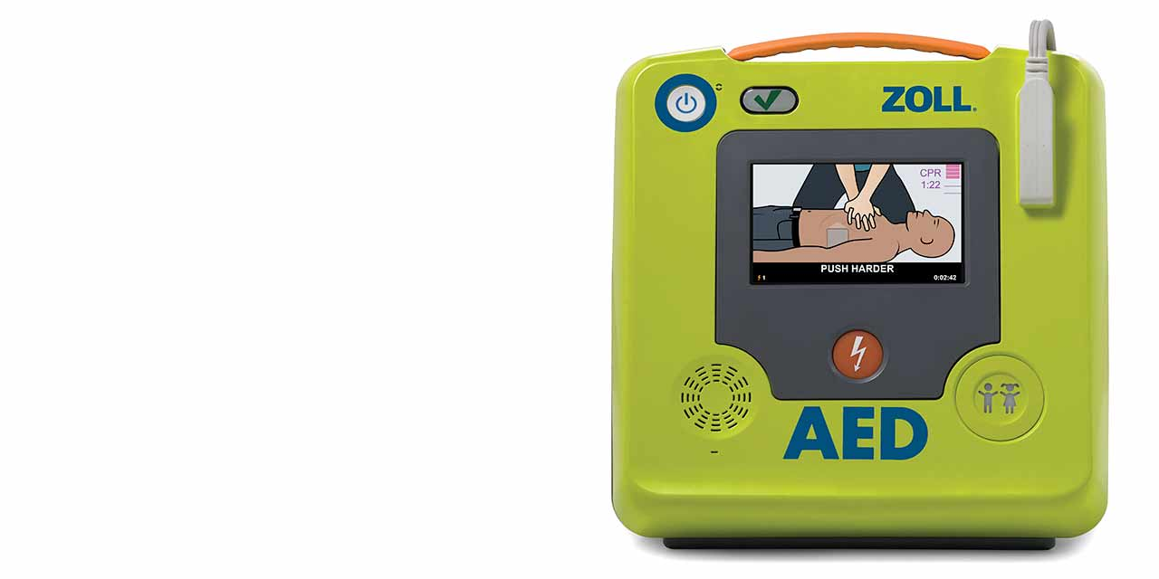 Defibrillator for home